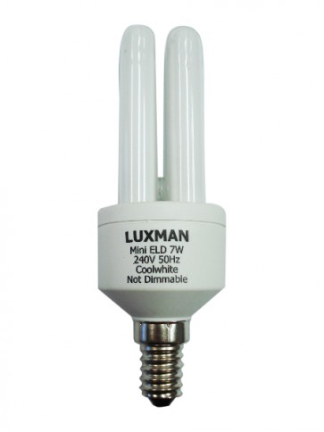 11W SES Mini Base Luxman Energy Saving CFL 12000 Hours CLA Lighting