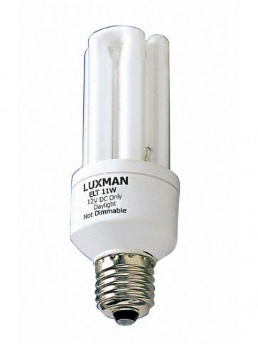 12V DC 15W Globe Fluorescent Bulb 6000 Hours in Day Light CLA Lighting