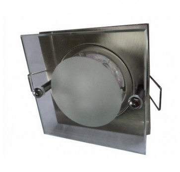 12V MR16 Fixed Square Downlight Frame with Drop Glass CLA Lighting