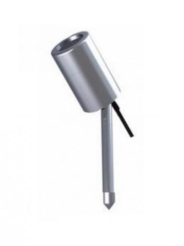 12V MR16 Short Single Adjustable Garden Spike Spotlight in Stainless Steel CLA Lighting