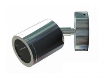 12V MR16 Single Adjustable Short Body Wall Pillar Light in Stainless Steel CLA Lighting