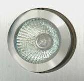 12V/240V MR16 Small Square Gimble 2 Tone Aluminium Downlight Frame in Silver CLA Lighting