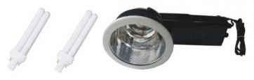 2 Light 26W Energy Saving Fluorescent Globe Downlight Kit CLA Lighting