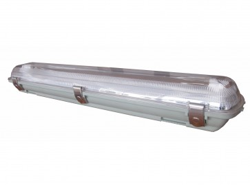 2 Light 28W Low Profile Outdoor Weatherproof Fitting CLA Lighting