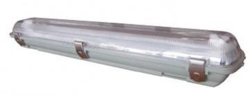 2 Light 36W Low Profile Outdoor Weatherproof Fitting CLA Lighting