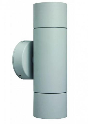 2 Light MR16 Up / Down Long Body Wall Pillar Light in Grey CLA Lighting