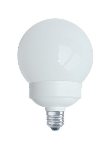 240V 20W ES Globe CFL Sphere Fluorescent Bulb 8000 Hours CLA Lighting