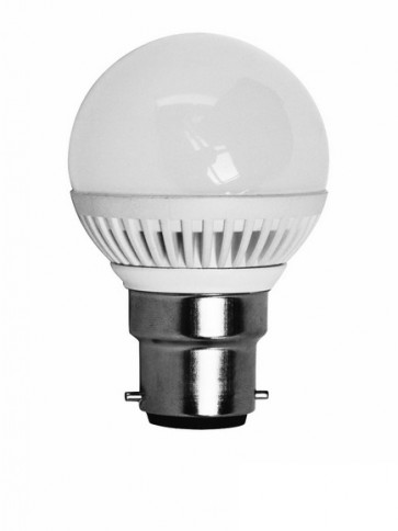 240V BC Globe Fancy Round Led Bulb 300000 Hours CLA Lighting