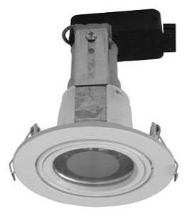 240V ES Gimble Small Round Downlight Frame CLA Lighting
