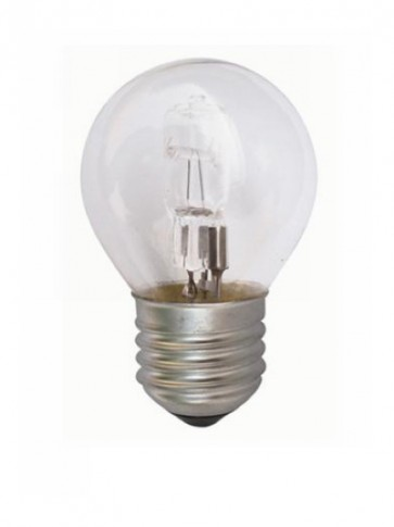 240V Fancy Round Halogen Energy Saving in Clear 2000 Hours CLA Lighting