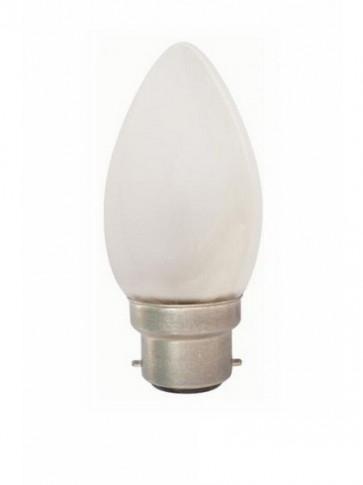 240V Globe Candle Halogen Energy Saving in Frosted 2000 Hours CLA Lighting
