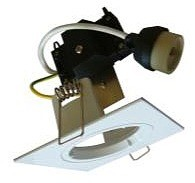 240V GU10 Fixed Downlight Frame with Lamp Holder CLA Lighting