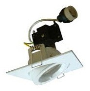240V GU10 Gimble Downlight Frame with Lamp Holder CLA Lighting