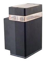 240V GU10 Rectangle Outdoor Wall Light in Black CLA Lighting