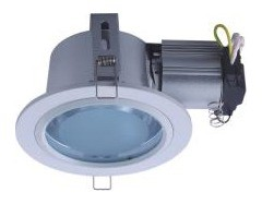240V Horizontal Large Round Downlight Frame CLA Lighting