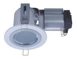 240V Horizontal Small Round Downlight Frame CLA Lighting