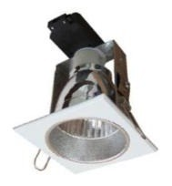 240V Large Square Downlight Frame CLA Lighting