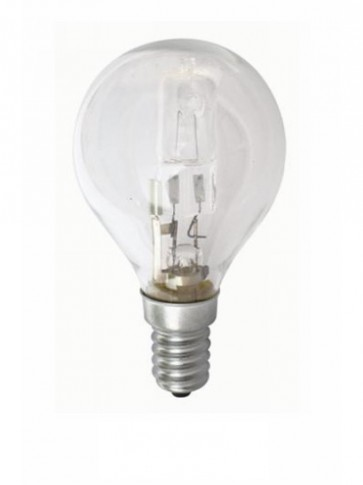 240V Mini Base Fancy Round Halogen Energy Saving in Clear CLA Lighting