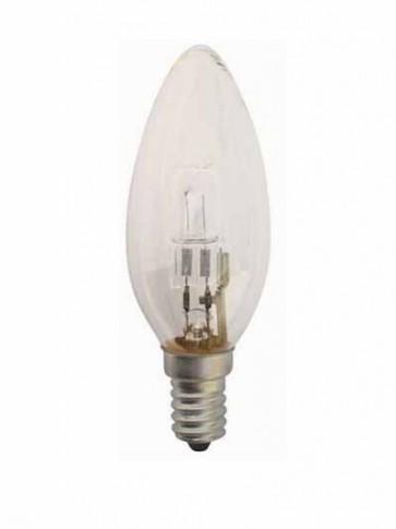 240V Mini Base Globe Candle Halogen Energy Saving in Clear CLA Lighting