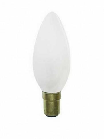 240V Mini Base Globe Candle Halogen Energy Saving in Frosted CLA Lighting