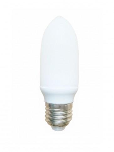 240V Mini Candle Energy Saving Fluorescent Bulb - 8000 Hours CLA Lighting