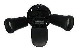 240V PAR38 Double Sensor Security Spotlight in Black CLA Lighting