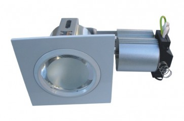 240V Side Entry Large Square Downlight Frame CLA Lighting