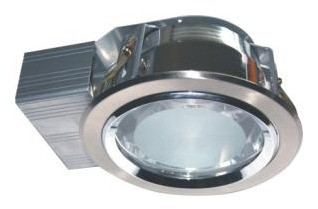 240V Side Entry Round Twin Ballast Downlight Frame CLA Lighting