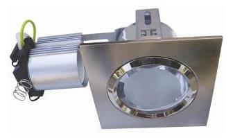 240V Side Entry Small Square Downlight Frame CLA Lighting