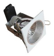 240V Small Square Downlight Frame CLA Lighting