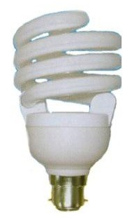 240V T3 BC Spiral Fluorescent Bulb 8000 Hours CLA Lighting