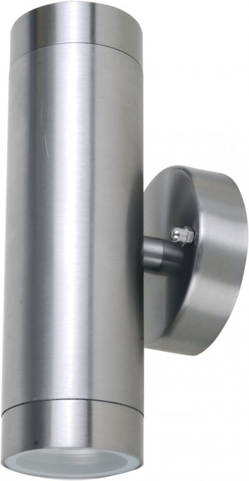 240V Up Down Fixed Grade Exterior Wall Light in Stainless Steel CLA Lighting