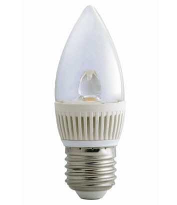 3000K LED Candle Dimmable in Warm White CLA Lighting