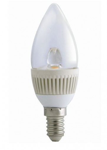 3000K LED Candle Dimmable SES in Warm White CLA Lighting
