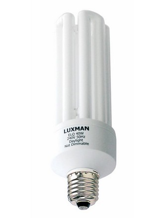 30W ES Globe CFL 4U Fluorescent Bulb 12000 Hours CLA Lighting