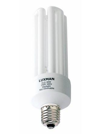 40W BC Globe CFL 4U Fluorescent Bulb 12000 Hours in Day Light CLA Lighting