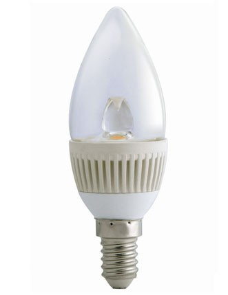 5000K LED Candle Dimmable SES in Cool White CLA Lighting