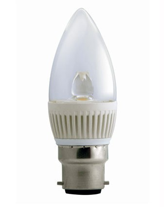 5000K LED Candle Dimmable CLA Lighting
