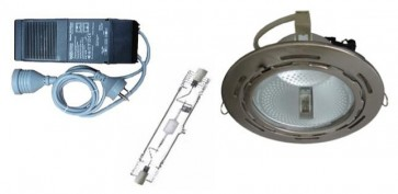 70W Metal Halide Round DownLight Kit CLA Lighting