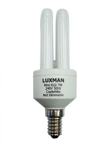 7W SES Mini Base Luxman Energy Saving CFL 12000 Hours CLA Lighting