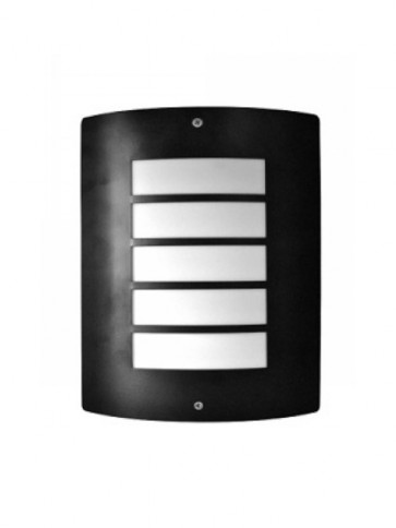 Bar Wall Mask in Stainless Steel Black CLA Lighting
