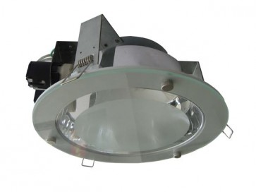 Dimmable Commercial Energy Saving Square Twin Downlight in White CLA Lighting