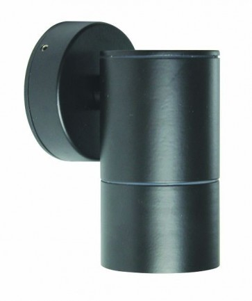 Fixed Long Body Wall Pillar Light in Black CLA Lighting
