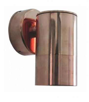 Fixed Long Body Wall Pillar Light in Copper CLA Lighting