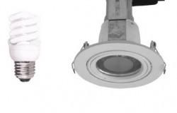 Gimbal Round Small Energy Saving Downlight Kit in White CLA Lighting