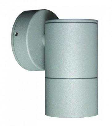 GU10 Fixed Long Body Wall Pillar Light in Grey CLA Lighting