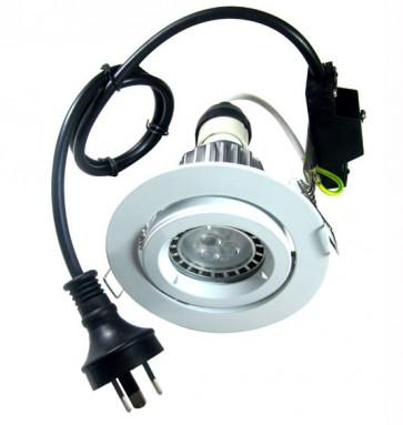 GU10 Gimbal LED Downlight Kit in Warm White CLA Lighting