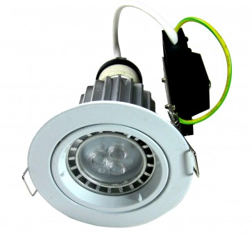 GU10 Round Fixed LED Downlight Kit in Cool White CLA Lighting