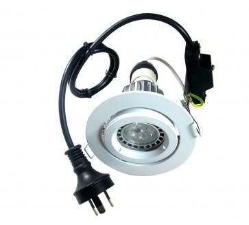 GU10 Round LED Downlight Kit in Cool White CLA Lighting