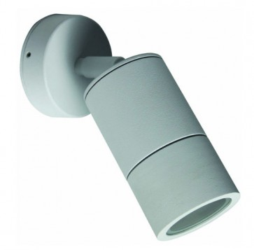 GU10 Single / Adjustable Long Body Wall Pillar Light in Grey CLA Lighting